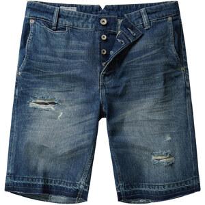MANGO MAN Jeans-Bermudas Mit Vintage-Waschung