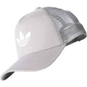 adidas Trefoil Trucker Cap mgh solid grey/white