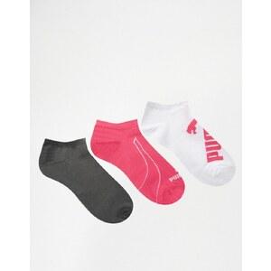 Puma - Lot de 3 paires de chaussettes de sport
