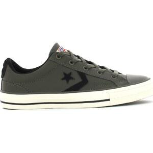 Converse Chaussures GREY BLACK SP OX CUIR