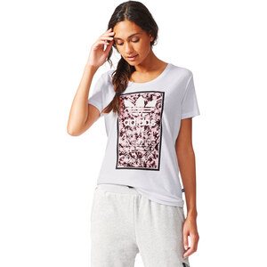 adidas Soccer Flowers2 W T-Shirt white