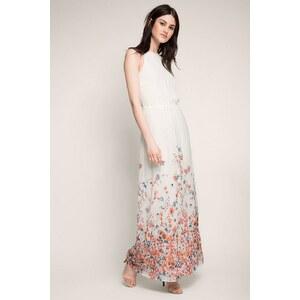 ESPRIT COLLECTION Fließendes Print Maxi-Kleid aus Georgette