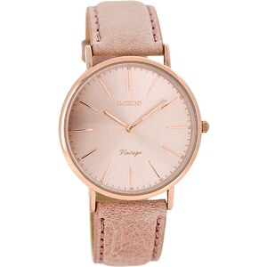 Oozoo Vintage Damen-Armbanduhr Altrosa C7372