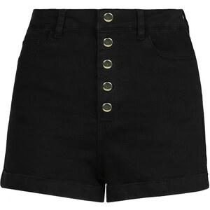 Tally Weijl Short Noir Taille Haute