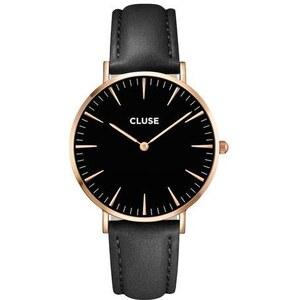 Montre Cluse La Bohème Rose Gold Black/Black