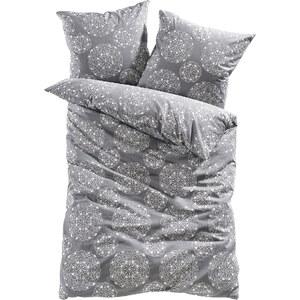 bpc living Linge de lit Enya, microfibres gris maison - bonprix