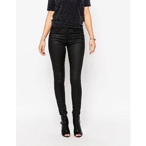 Only - Ultimate - Jean skinny enduit - Noir - Noir