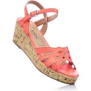 bpc bonprix collection Sandales rose avec 7 cm talon compenséchaussures & accessoires - bonprix