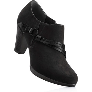 bpc bonprix collection Bottines noir avec 8 cm talon entonnoirchaussures & accessoires - bonprix