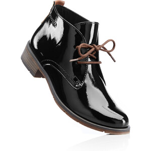 Chaussures à lacets noir avec 3 cm talon carréchaussures & accessoires - bonprix