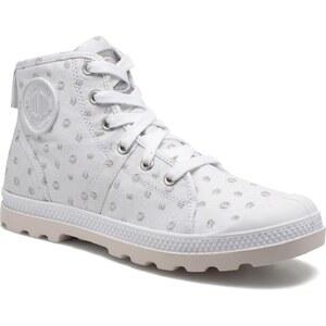 SALE - 30% - Palladium - Pallabrouse Mid - Sneaker für Damen / weiß