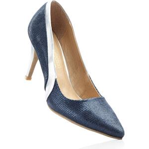 bpc selection premium Escarpins bleu avec 8 cm haut talonchaussures & accessoires - bonprix