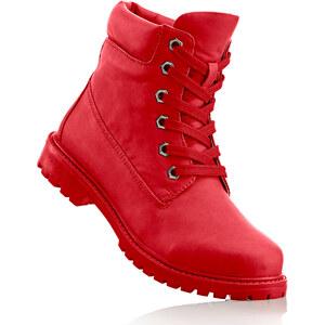 RAINBOW Bottines à lacets fuchsia chaussures & accessoires - bonprix
