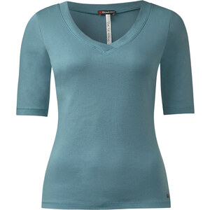 Street One 3/4-Arm Shirt Dagny - stone aqua, Damen