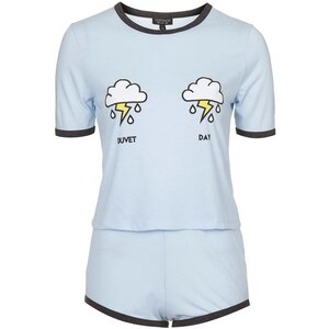 "Topshop ""Duvet Day""-Pyjama - Blau"