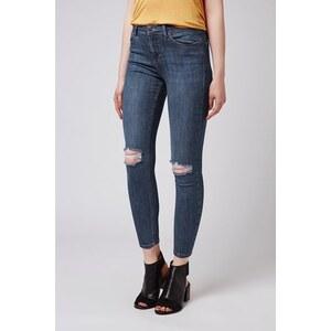 Topshop MOTO Jamie Vintage-Jeans Petite-Größe - Navy Blau