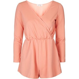 Topshop **Wickel-Playsuit von Glamorous - Pink