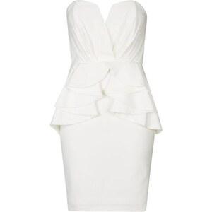 Topshop **Cella Minikleid von TFNC - Weiß