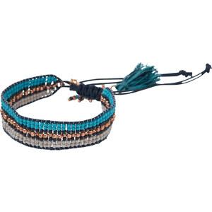 Cecil - Bracelet garni de perles - deep bleu