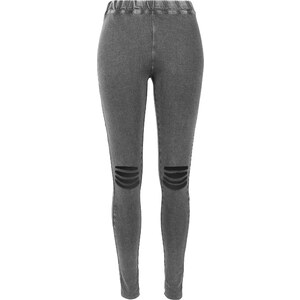 Urban Classics Cutted Knee W Leggings acid black