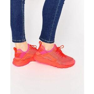 Nike - Huarache - Baskets de course à pied respirantes - Rouge vif - Rouge