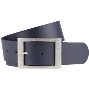 Michèle Boyard Damen Ledergürtel Gürtel blau aus echtem Leder