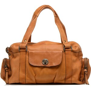 Totally Royal leather Small bag par Pieces