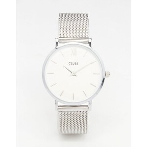 Cluse - Minuit - Silberne Armbanduhr, CL30009 - Silber