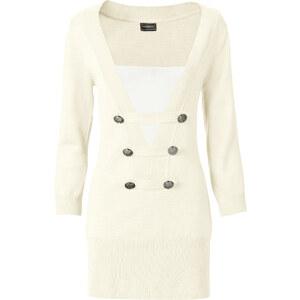 BODYFLIRT boutique Pull blanc femme - bonprix