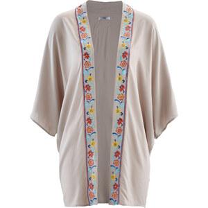 bpc bonprix collection Kimono manches 3/4 gris femme - bonprix