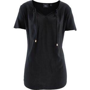 bpc bonprix collection Tunique manches courtes noir femme - bonprix