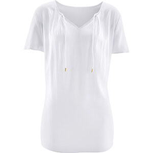 bpc bonprix collection Tunique manches courtes blanc femme - bonprix