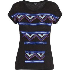 Morgan T-shirt - en lin noir