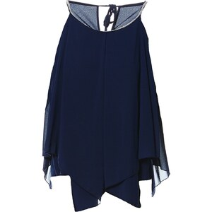 Le dressing d'Alisson Top asymétrique - bleu marine