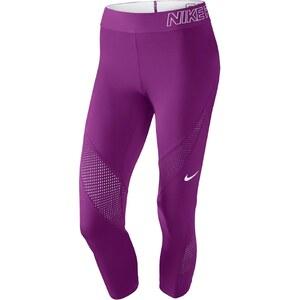 Nike Pro Hypercool - Caprihose - malvenfarben
