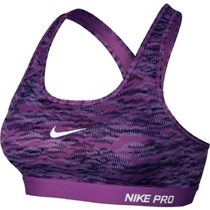 Nike Sport-BH - malvenfarben