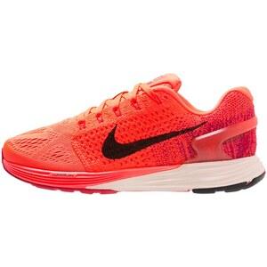 Nike Performance LUNARGLIDE 7 Laufschuh Stabilität orange / noir