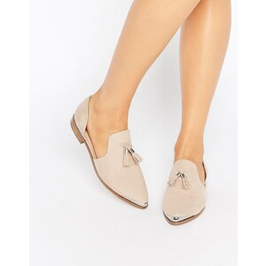ASOS - MELODY - Chaussures plates et pointues - Beige