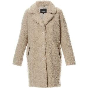 Oakwood Manteau effet fourrure - gris