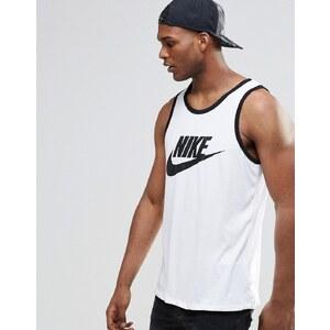 Nike - Ace 779234-100 - Débardeur avec logo - Blanc - Blanc