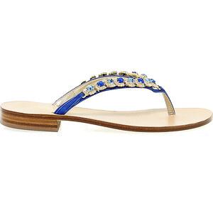 Flache sandalen capri so113 b