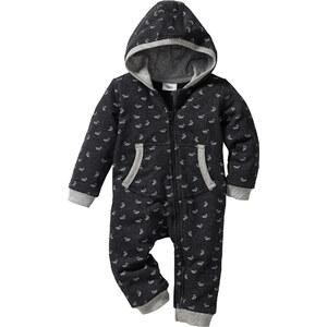 bpc bonprix collection Baby Sweat-Overall Bio-Baumwolle langarm in grau für Herren von bonprix
