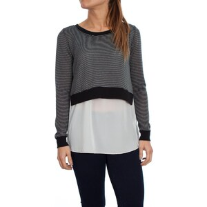 Only Pull SALLY LS MIX TOP
