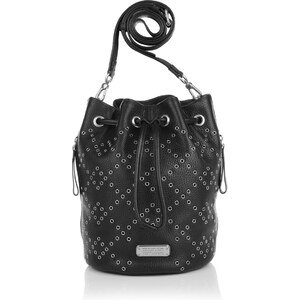 Marc by Marc Jacobs Sacs à Bandoulière, Luna Novelty Bucket With Crosby Grommet Black en noir