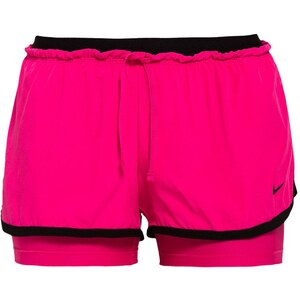 Nike Performance FULL FLEX 2IN1 kurze Sporthose rose/noir