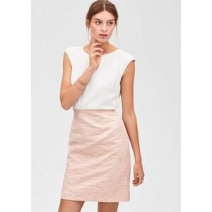 s.Oliver PREMIUM Kleid mit Jacquard-Rock