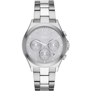 Dkny Montres, Parsons Round Watch Silver en argent