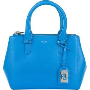 Lauren Ralph Lauren Sacs portés main, Mini Double Zipper Satchel Cyan en bleu
