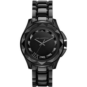 Karl Lagerfeld Montres, Karl 7 Unisex Watch Brushed Black en noir