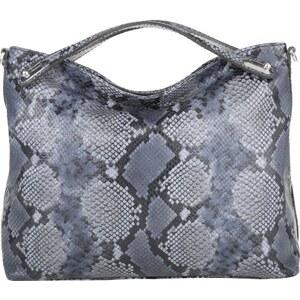 Abro Sacs à Bandoulière, Adria Diamant Lux Snake Hobo Bag Navy en bleu